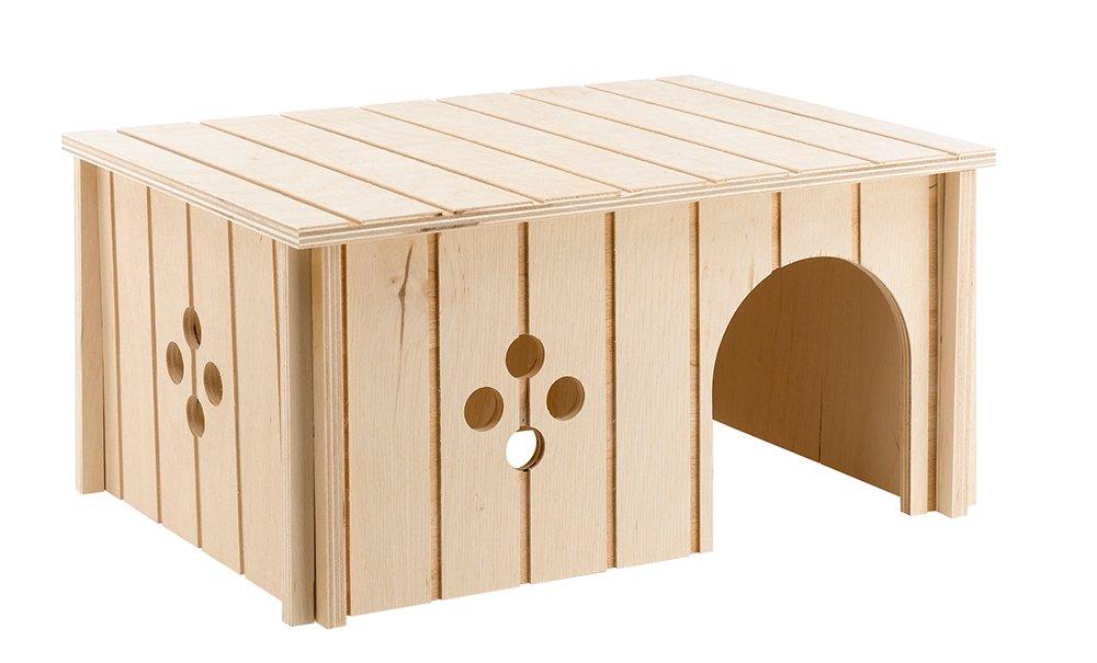 Ferplast - 84646099 - Maison en bois pour lapins - 33 x 23, 6 x 16 cm 340897