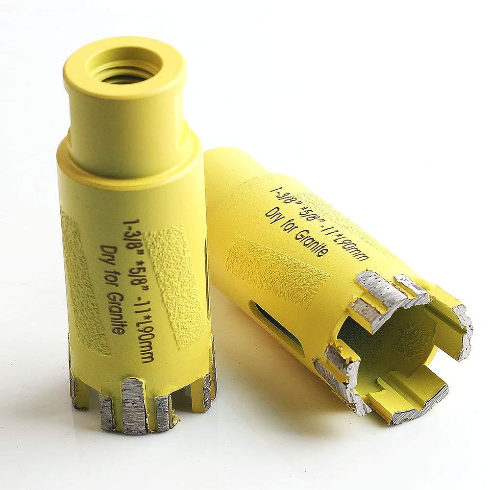 1-3/8 inch granite diamond core drill bit for dry drilling stone China