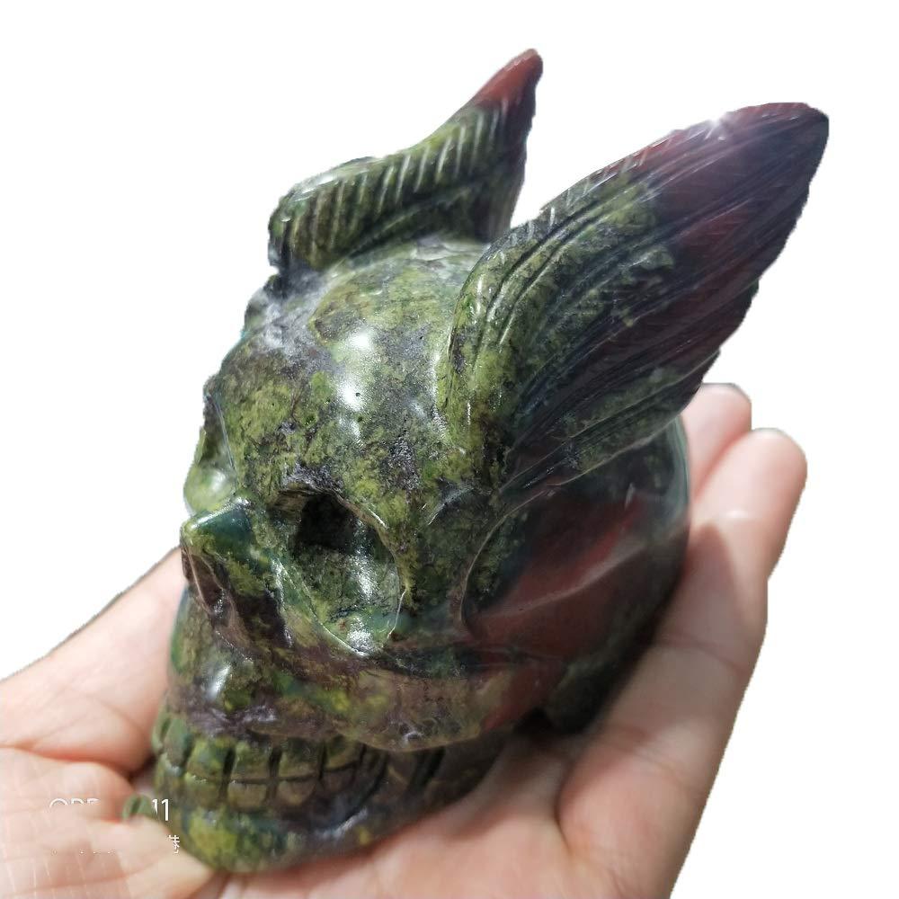 """Natural Hand Carved Angel Natural Crystal Healing Gemstone Carving Specimen 2/"""""""