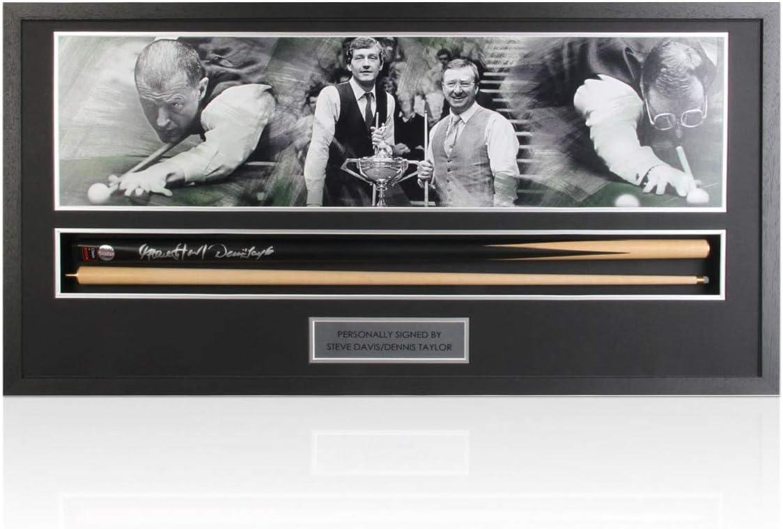 exclusivememorabilia.com Snooker Cue Firmado por Steve Davis y ...