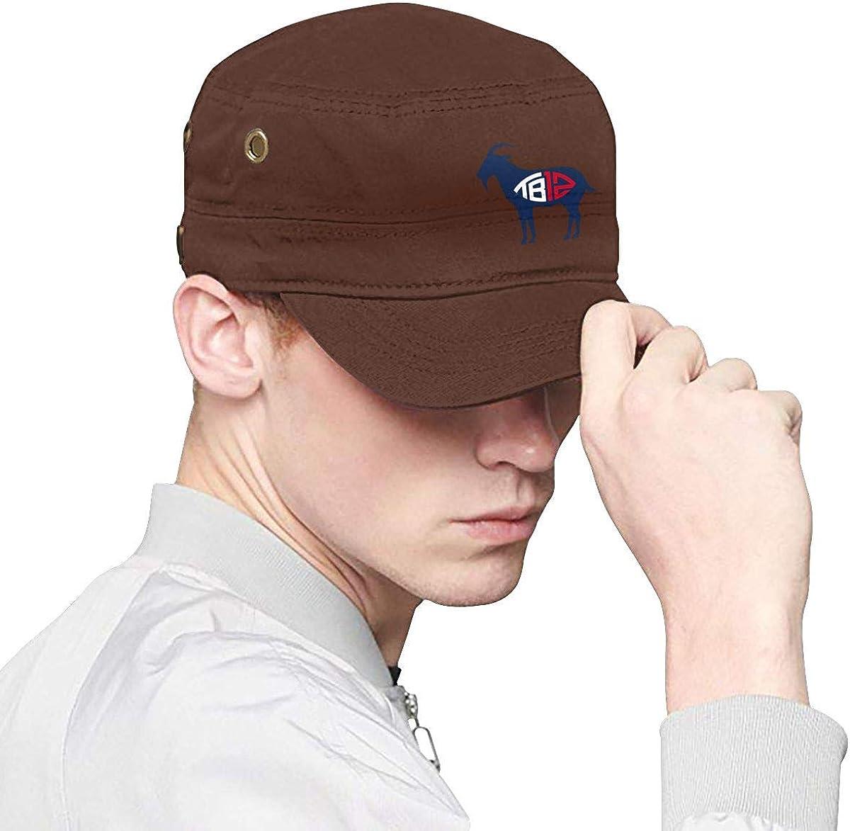 TB12 Goat Men Classics Cap Womens Fashion Hat Hats