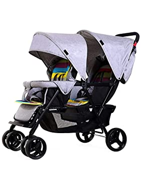 Bykle Cochecito Doble para cochecitos de bebé y niño pequeño ...