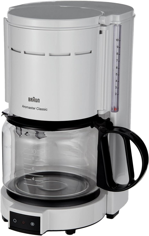 Cafetera eléctrica 10tazas Aroma ster WS Jarra de cristal: Amazon ...