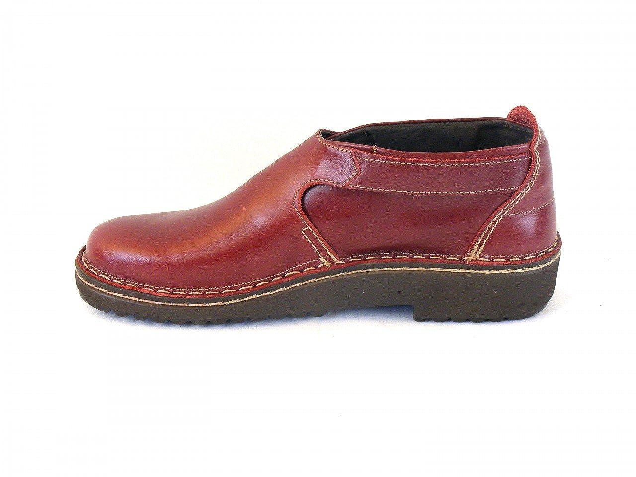 Naot - Mocasines de cuero para mujer rojo rojo: Amazon.es: Zapatos y complementos