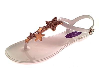 0e41670ea5fb Lora Dora Womens Star Jelly Sandals  Amazon.co.uk  Shoes   Bags