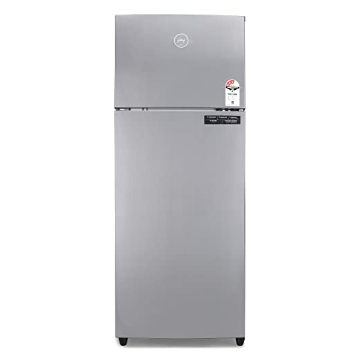 Godrej 260 L 3 Star Inverter Frost Free Double Door Refrigerator  RF EON 260C 35 RCIF ST RH, Steel Rush, 6 in 1 Convertible