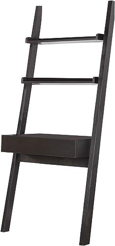 Benjara Benzara Wall Leaning Ladder Writing Desk Review