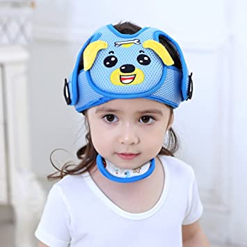 Baby Head Back Support Headrest Walk Learning Head Neck Protector Safety Helmet Baby