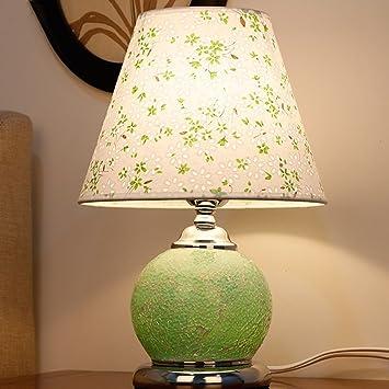 Lámpara de Mesa de Vidrio Fuente de luz Doble Luces ...