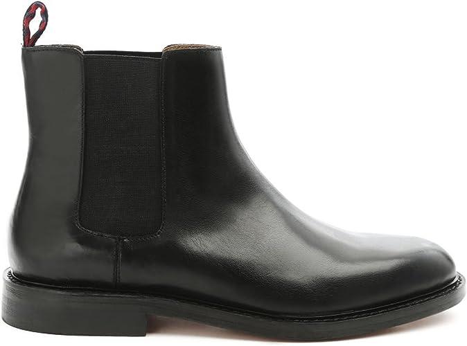 Polo Ralph Lauren – Botas – Hombre – Chelsea Botas de Negro ...