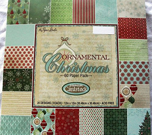 ornamental-christmas-snowflakestreesmusic-notes-ornaments-60-sheets-12x12-decorative-paper-pack-new