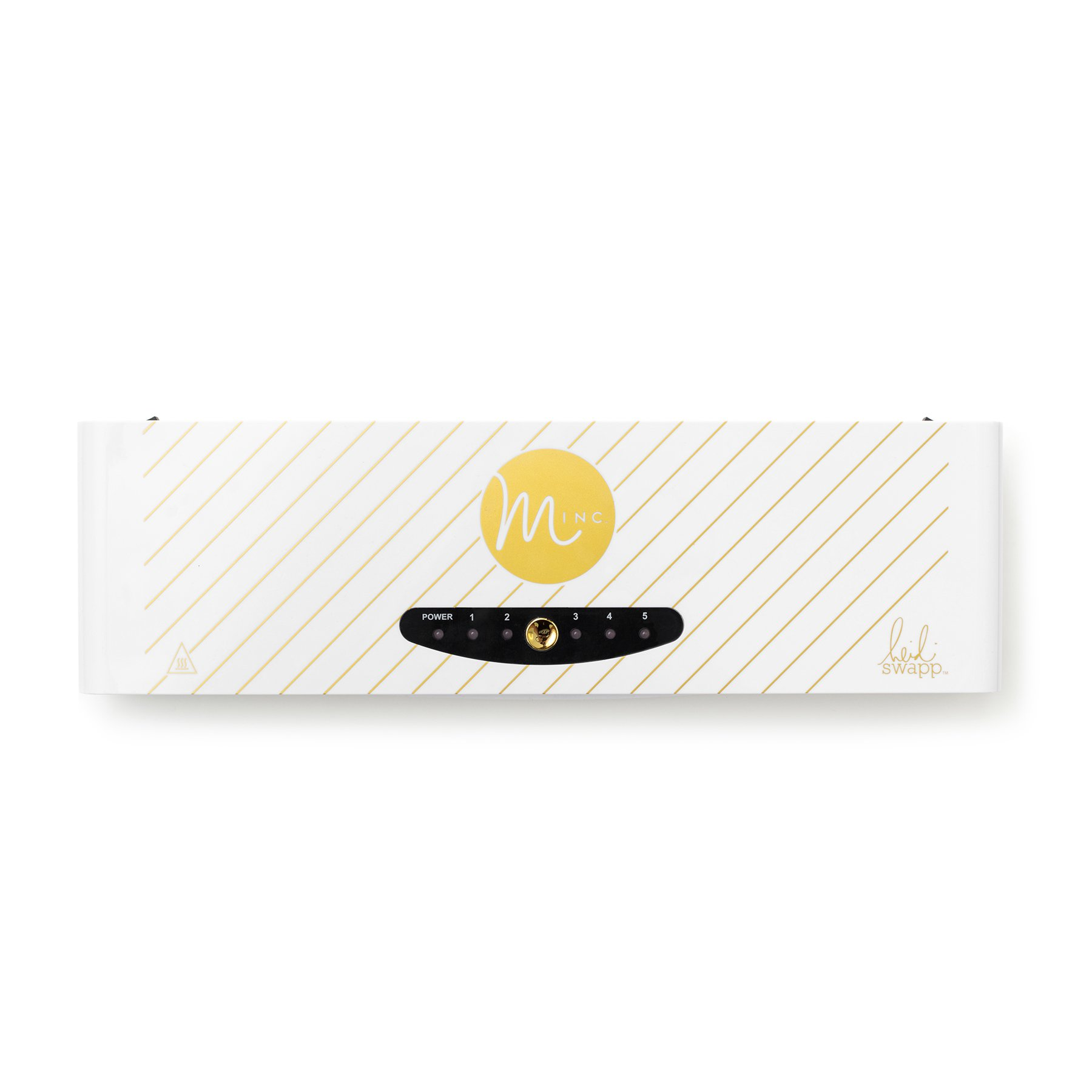 Minc Foil Application Machine Starter Kit by American Crafts | Includes machine, one transfer folder, one gold foil sheet, and three tags | US Version by American Crafts