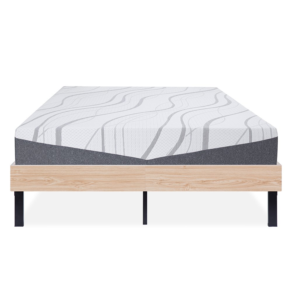 Broyhill Easy Sleep Rollaway Portable Folding Guest Bed Cot with Memory Foam Mattress, 3 Twin