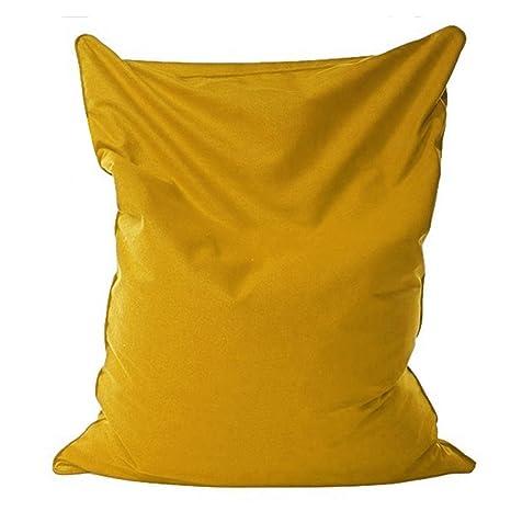 Amazon.com: Lazy BeanBag Sofas Cloth Lounger Seat Bean Bag ...