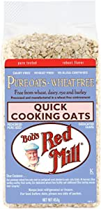 Bob's Red Mill Pure Wheat Free Quick Cooking Rolled Oats, 453g