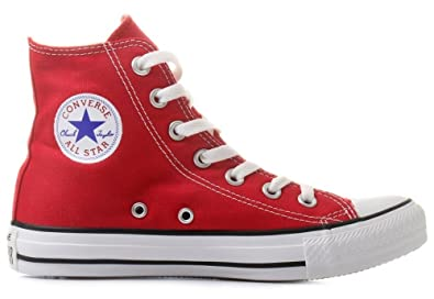 converse all star scarpe donna rosso