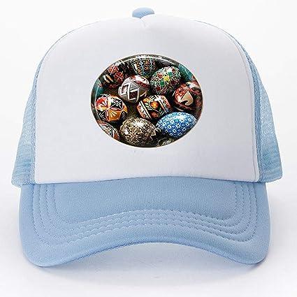 Amazon.com: Ukrainian Easter Eggs Adjustable Baseball caps ...