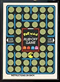 1980 Fleer Midway PAC-MAN Arcade Rub Off Game Card RARE - Mint Condition Ships in a Brand New Holder