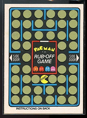 1980-fleer-midway-pac-man-arcade-rub-off-game-card-rare-mint-condition-ships-in-a-brand-new-holder