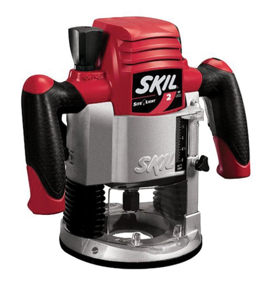 Factory-Reconditioned SKIL 1820-RT 2 Horsepower Plunge Router w Site Light