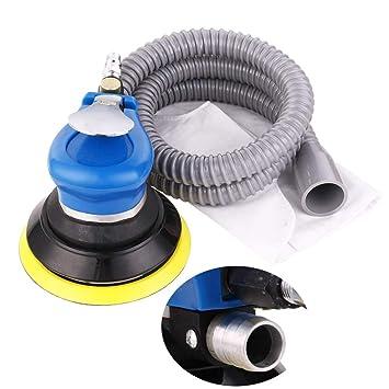 5 pulgadas Orbital aleatorio aire para Palm lijadora y pulidora de coche aspiradora Set Herramienta: Amazon.es: Coche y moto