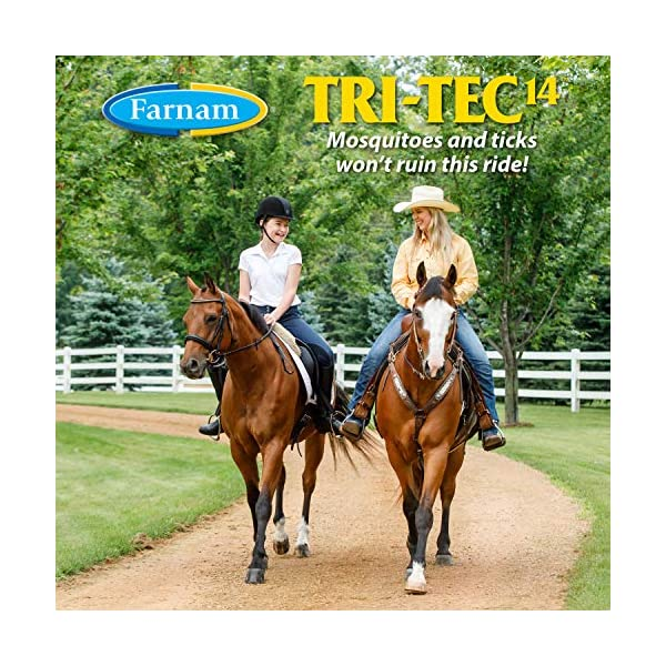 Farnam Tri-Tec 14 Fly Repellent Spray for Horses with Sunscreen 3