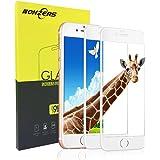 Vetro Temperato per iPhone 7 / iPhone 8, [2 Pack] Pellicola Protettiva in Vetro Temperato, Durezza 9H e 3D Touch Compatible, Ultra Resistente e Ultra Sottile per iPhone 7 / 8 (Bianco)