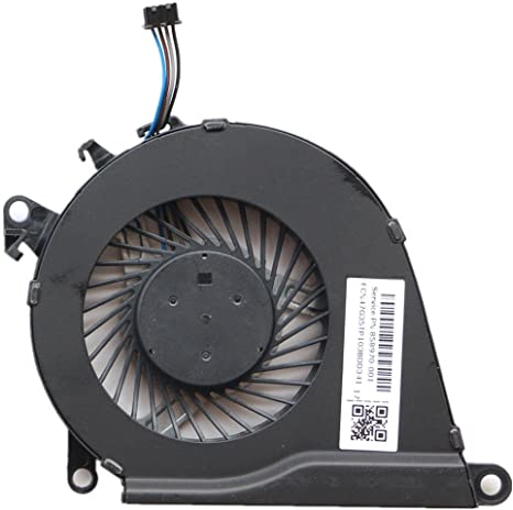 858970-001 KBR Replacement CPU Cooling Fan Compatible with HP OMEN 15-AX 15-AX023TX 15-AX030TX 15-AX033DX 15-AX020TX 15-AX219TX 15-AX016TX 15-AX215TX Series Laptop P//N