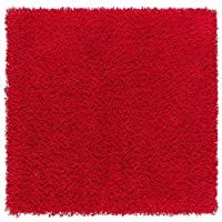Ikea Hampen Rug Red High Pile