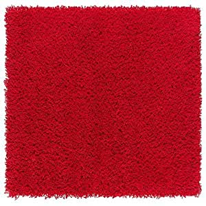 Amazon Com Ikea Hampen Rug Red High Pile Toys Amp Games