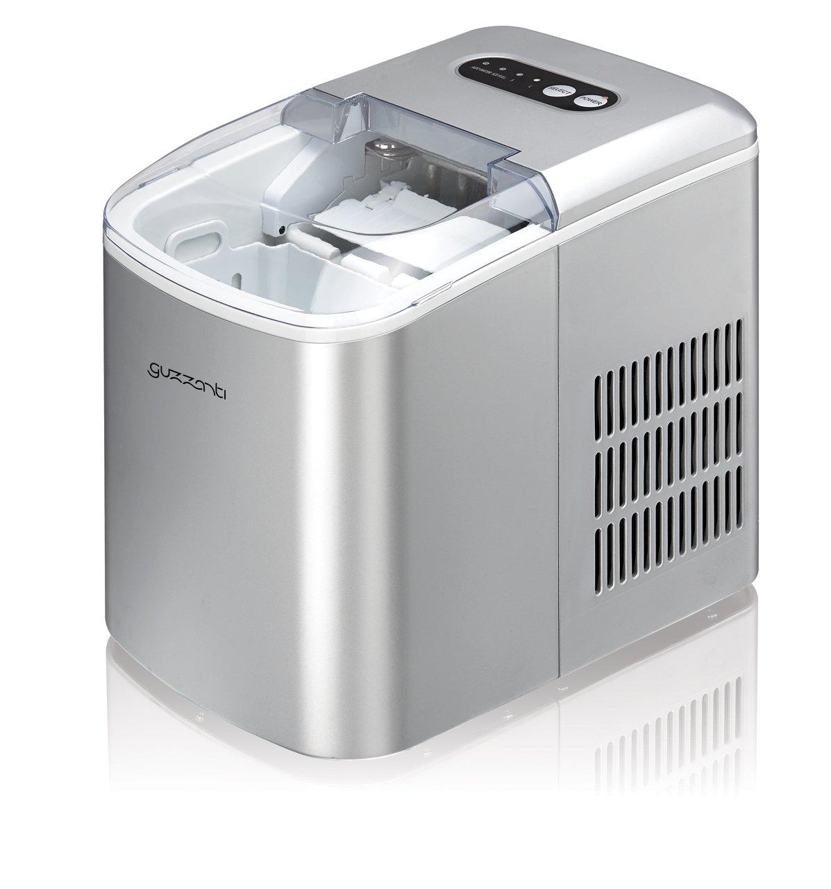 Guzzanti GZ-120 Eiswürfelmaschine, 2.1 L, 120 W, weiß weiß
