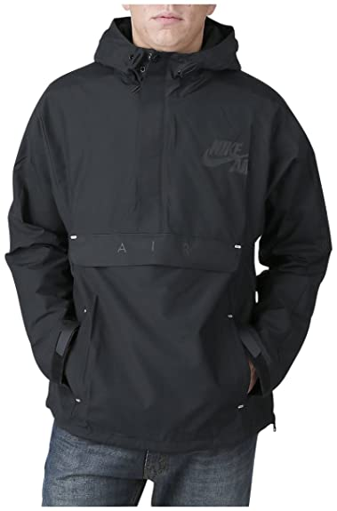 e2ef23cff302 Nike – Basketball Bb Heritage Half Zip Jacket Hoodie Black Size  Medium