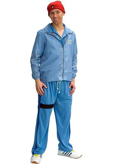 75830b349c8 Amazon.com  The Life Aquatic Crew Member Deluxe Adult Costume (Standard)   Clothing