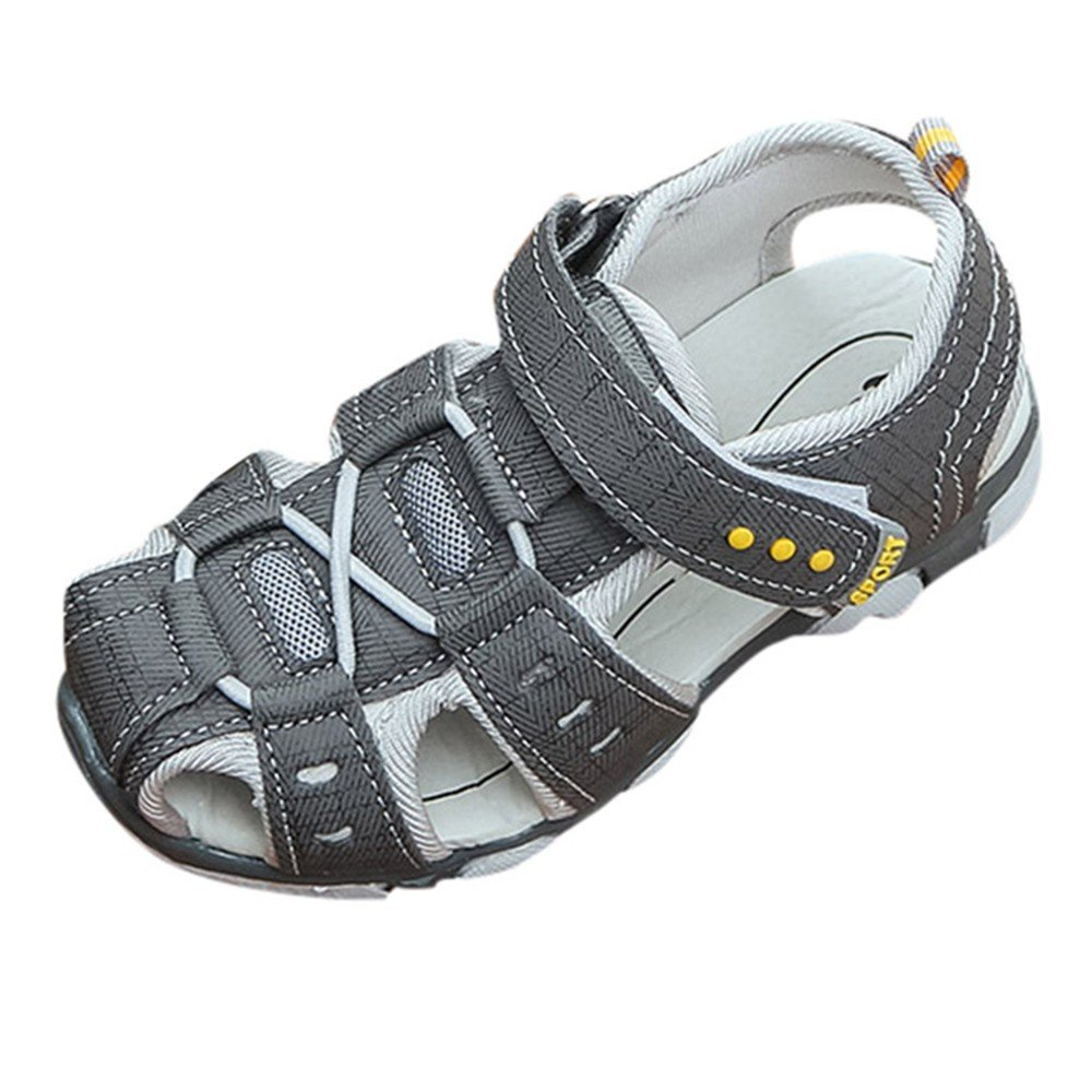 Yamally_9R_Unisex Shoes Boy's Girl's Outdoor Sports Sandals Kids Strap Breathable Closed-Toe Water Shoe Water Sandal Sneakers