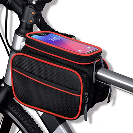 RBB-Bike Bag Bolsa De Bicicleta Impermeable Tubo Superior Bolso ...