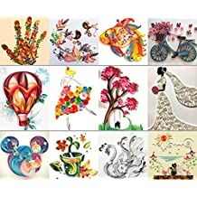 MS Origami Paper Quilling Tool Set Drawings DIY Handmade TO383