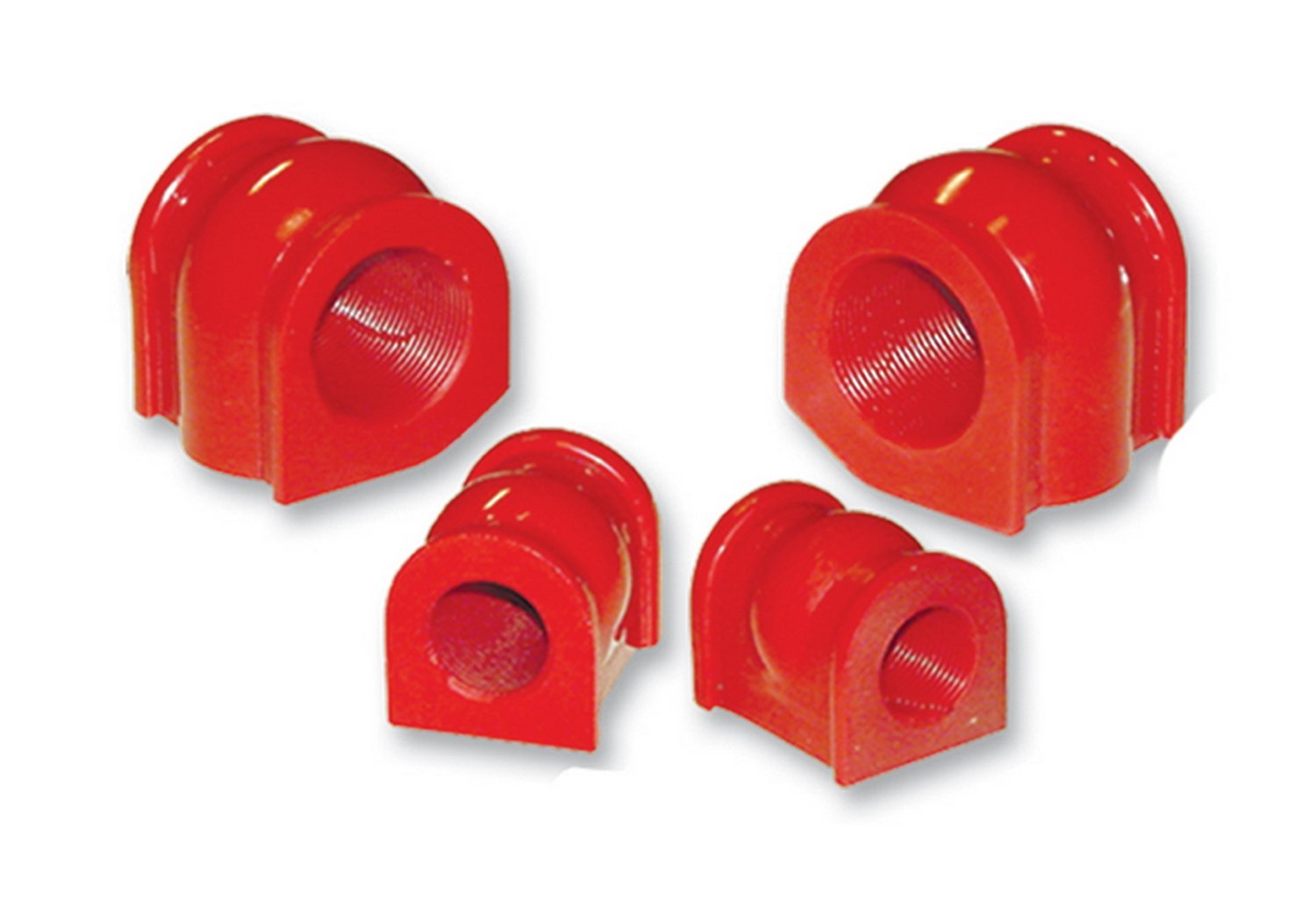 Prothane 8-1138 Red 25.4 mm Front Sway Bar Bushing Kit