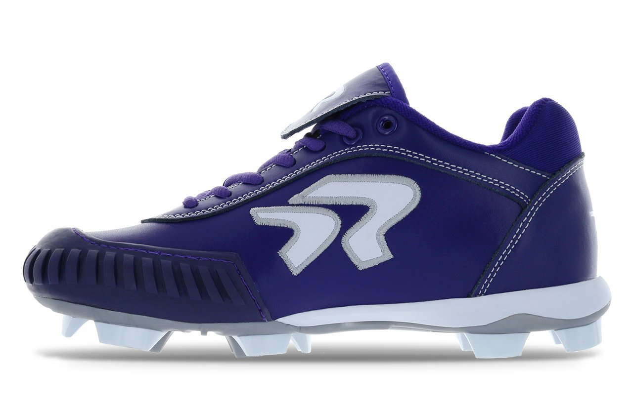 Dynasty 2.0 Cleat- Pitching B07B4MF1L1 7.5 B(M) US|Purple/White