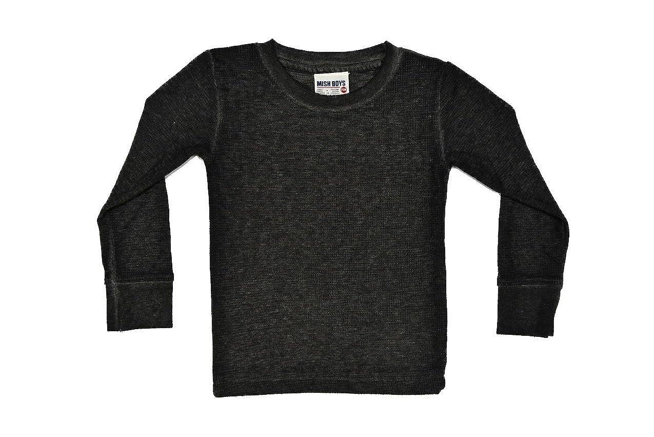 Mish Long Sleeve Thermal - Distressed Black