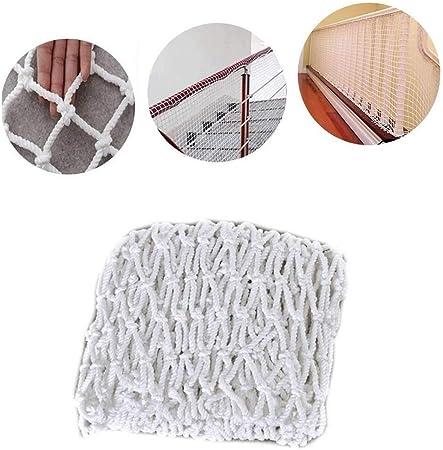 Malla de Red de Protección Decoración de Techo Blanca Cuerda Net Net Decoración del Jardín, 2x4m Red de Seguridad Protección Escaleras Niño 3 * 5m (Size : 2 * 8M): Amazon.es: Hogar