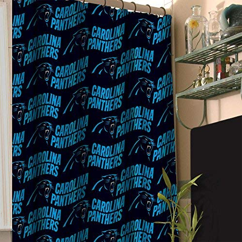 Officially Licensed NFL Cincinnati Bengals Shower Curtain, 72'' x 72'', Multi Color by The Northwest Company