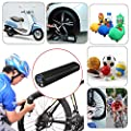 QIANJING New Rechargeable Electric Portable Car Cycling Bicycle Bike Pump Tire Tyre Inflator Mini Air Compressor With LCD Display