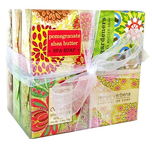 Boxed Bath Set (All Occasion Soap Sampler Gift Set - Boxed Sets of 12 Assorted Scents)