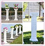 LB 4pcs Height Adjustable Plastic Roman Column Studio Photography Prop Wedding Decorative LMZ001