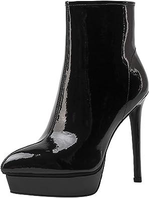Royou Yiuoer Women Ankle Boots Fashion