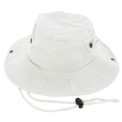 bffb0d095d6 Amazon.com   Beth Sport Boonie Bucket Hat Cap 100% Cotton Fishing Military  Hunting Safari Summer Men   Sports   Outdoors