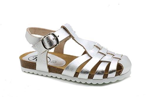 Donna itScarpe Bios Sandalia Argento Bnk Rin Size34Amazon Borse E gvY7byf6