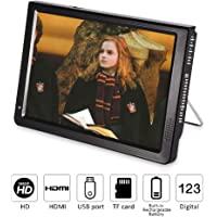 "Fosa Portable ATSC 7"" 9"" 10"" 12"" 16:9 Digital Television TV TFT LED 1080P HD HDMI Video Player (10"")"
