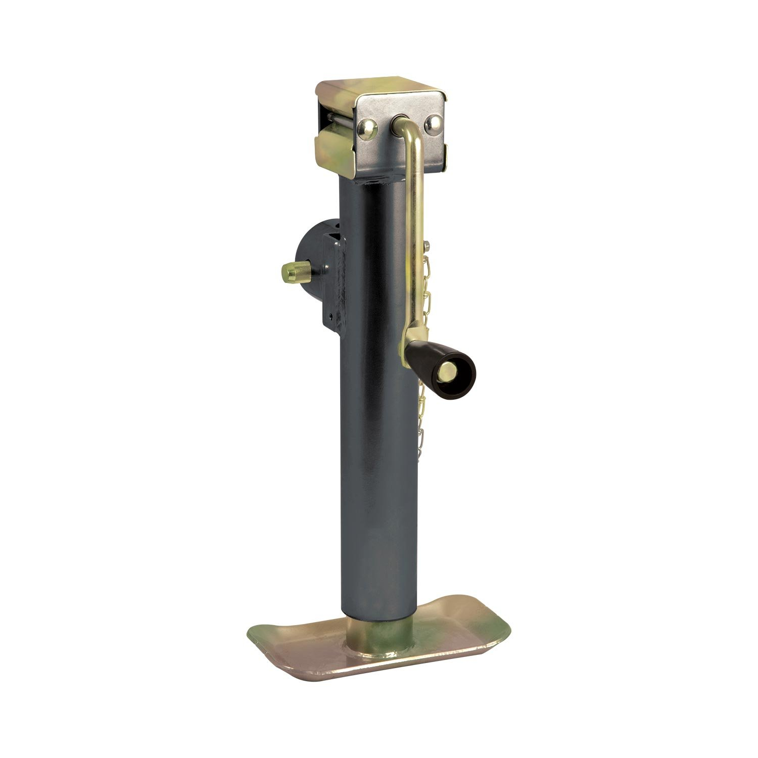 Koch Industries 4221020 Trailer Jack Weld-on Swivel Tube Mount, 5,000-Pound Lift Capacity, Sidewind, 10-inch Travel