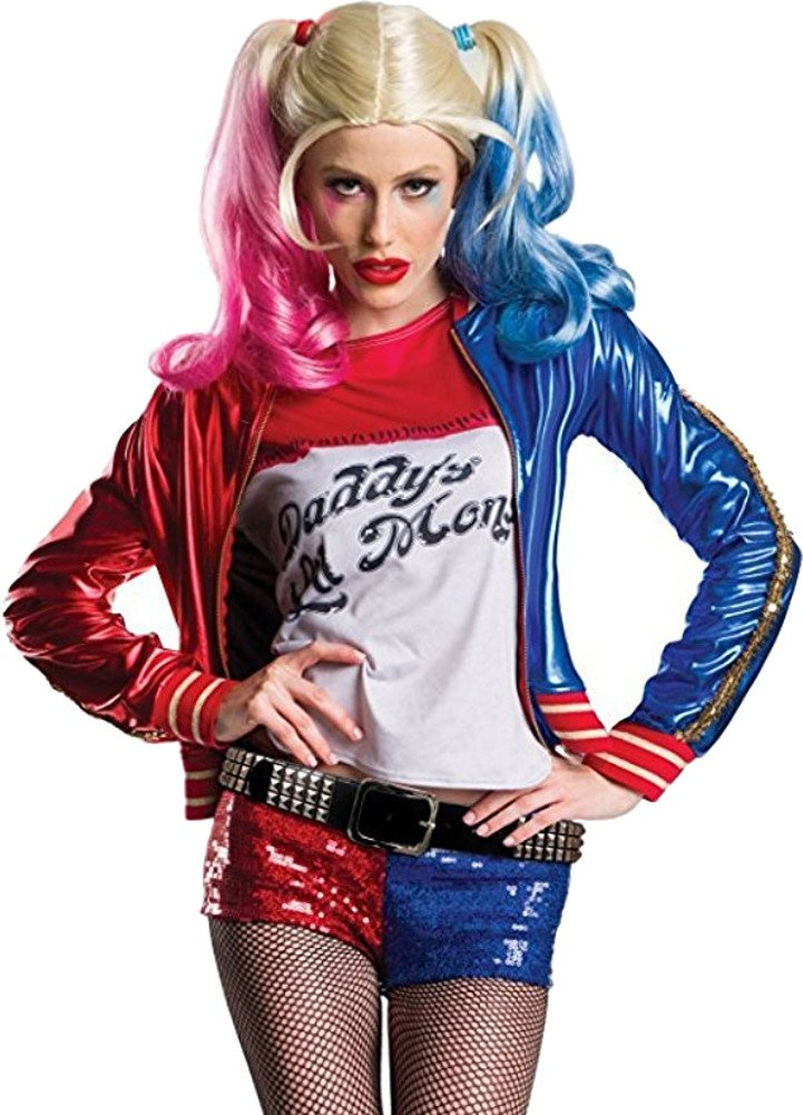 Charades Women's Suicide Squad Harley Quinn Costume, As Shown, X-Small